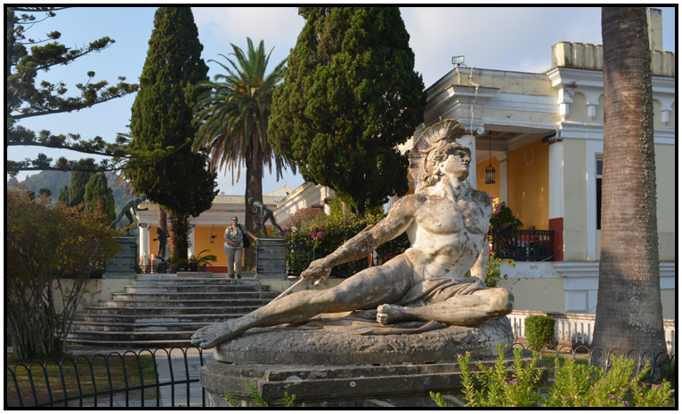 travel - europe - greece - corfu - achilleion - d holmes ...