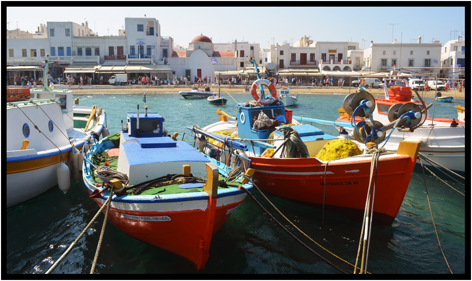 Travel greece mykonos chora mykonos waterfront d for Greece waterfront property for sale