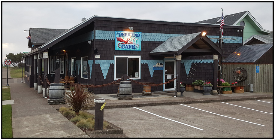 cafe exterior travel north america united states oregon newport deep